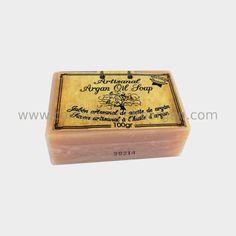 Jabón de aceite de argán artesanal regenerante y antioxidante