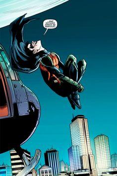 Dick Grayson!, Batman and Robin: Annual #2