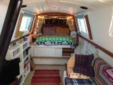 Harborough 40 Cruiser Stern for sale UK, Harborough boats for sale, Harborough used boat sales, Harborough Narrow Boats For Sale 40ft Narrowboat with London mooring - Apollo Duck