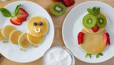 Cute way to make breakfast for the kids! Pancake Art Kit, Cute Snacks, Pancakes Easy, Food Preparation, Crepes, Kids Meals, Mixer, Waffles, Food And Drink