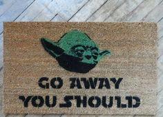 Yoda door mat