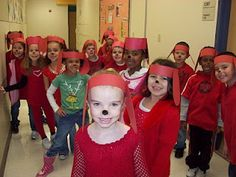 Clifford Day at Kindergarten chronicles