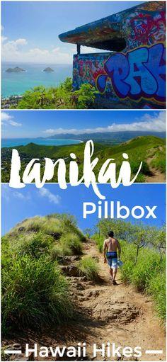 The Lanikai Pillbox hike (a.k.a. Kaiwa Ridge) is a favorite on Oahu for visitors and locals alike. It's a quick climb for scenic views of beautiful Lanikai beach, the Ko'olau mountains, and Kailua town.