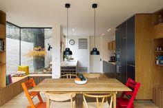 Leytonstone — Bespoke plywood furniture - Bespoke Plywood Kitchen by Uncommon Projects - Home Decor Kitchen, Kitchen Furniture, New Kitchen, Home Kitchens, Office Furniture, Urban Furniture, Farmhouse Furniture, White Furniture, Industrial Furniture