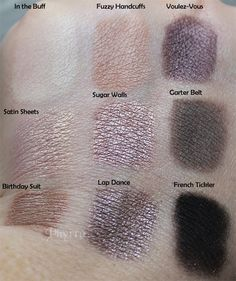 Too Faced Boudoir Eye Shadow Palette Review Swatches Tutorials