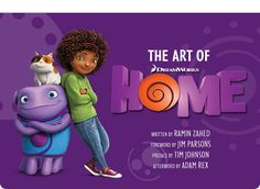 [ART BOOK REVIEW] The Art of Home http://www.rotoscopers.com/2015/02/16/art-book-review-the-art-of-home/