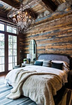 Rustic luxe