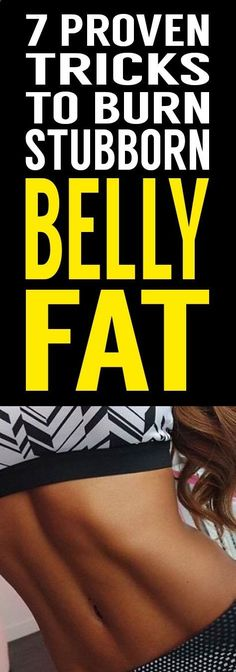 WANTED - six-pack abs! Tired of your stubborn pooch fat? Try these 7 secret tips that will help your weight loss and finally shed your belly fat without spending hours and hours in the gym! Belly Pooch, Stubborn Belly Fat, Six Pack Abs, Butt Workout, Fit Women, Tired, Burns, Health Fitness, Weight Loss