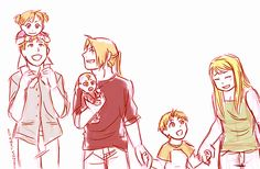 Elric Family by m7angela: