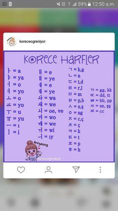Korean Language Learning, Learn A New Language, Korean Handwriting, Learn Hangul, Apocalypse Art, Korean Words, World Languages, Learn Korean, Self