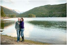 Plum Pretty Photography   Winter Park Engagement Photos   Monarch Lake Colorado   Colorado Engagement Photography
