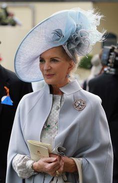 Princess Michael of Kent in a Philip Treacy design.