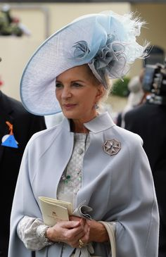 Princess Michael of Kent in a Philip Treacy design. #passion4hats