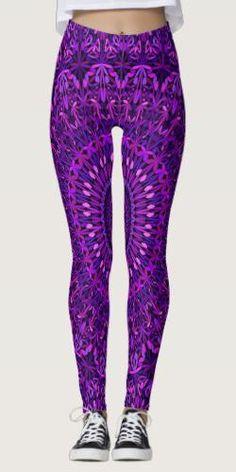 Purple Night Garden Mandala Leggings for $66.25 #apparel #MandalaFashion #design #BohemianFashion #fashion #MandalaApparel #art #DavidZydd #YogaFashion #bohemian #WomenFashion #apparel #YogaApparel #BohoApparel #MandalaClothing #BohemianApparel #clothes #clothing #BohoClothes #boho