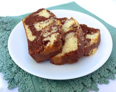 Chocolate Marble Bread - High Altitude