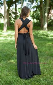 Chase After Me Black Wrap Maxi
