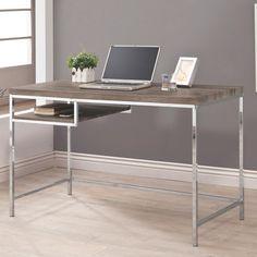 50+ Grey Wood Computer Desk - Best Bedroom Furniture Check more at http://www.shophyperformance.com/grey-wood-computer-desk/