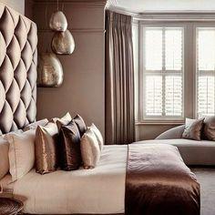 idee schlafzimmer modern farben weiß ecru schoko braun | for the ... - Schlafzimmer Modern Weis Braun