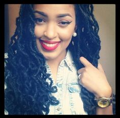Curly locs...now dat you're a dreadlock