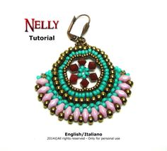 Tutorial Nelly Earrings