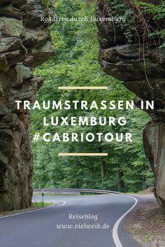 Traumstraßen in Luxemburg - Auf Cabriotour vorbei an Schlössern, Burgen und einmaliger Natur! Hier gibt es Routentipps für Euren Roadtrip: