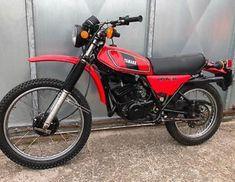 Yamaha Motorcycles, Scrambler Motorcycle, Old Bikes, Dirt Bikes, Atvs, Custom Bikes, Good Old, Random Stuff, Trail