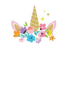 Unicorn Clip Art Pinterest Unicorn Unicorn Birthday And