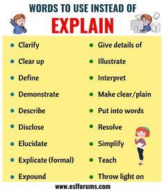 Essay Writing Skills, Book Writing Tips, English Writing Skills, Writing Words, English Lessons, Learn English Words, English Phrases, English Grammar, English Language