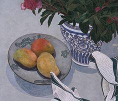 Cressida Campbell - Mangoes and Peonies