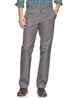 The tailored khaki (straight fit) - These very versatile khakis are refined and comfortable, polished yet casual—perfect for day or night.