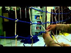 Want To Learn my DIY-CARGO NET MAKING? - YouTube