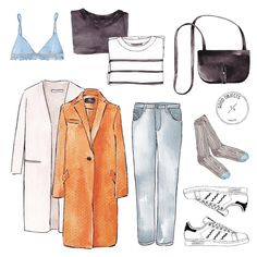 Good objects - Tuesday essentials #goodobjects #watercolor #illustration
