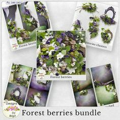 Forest berries bundle by Designs by Brigit
