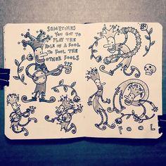 A tale of fools #sketchbook #sketch #carlosaraujoillustrator #drawing #draw #illo #sketching #fool #buffon  #dibujo #instart #instasketch #goodmorning