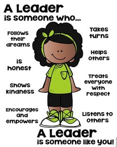 Leader Poster - Zurück in die Schule [someone who] - Back to School Classroom Behavior, Classroom Rules, Classroom Management, Behavior Goals, Social Skills Lessons, Coping Skills, Character Education, Kids Education, Teaching Kids