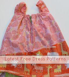 latest free dress patterns roundup
