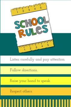 Clroom Rules Editable And Printable Poster Template Templates Your Image