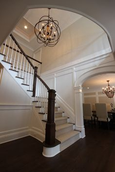 Using wainscoting to break up tall walls