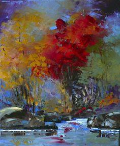 Peinture - medium Huile - Judith St-Hilaire