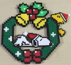 Christmas Crafts, Xmas, Christmas Ornaments, Christmas Perler Beads, Craft Iron, Iron Beads, Crafts For Kids To Make, Hama Beads, Beading Patterns