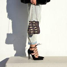 Lace-up your style (via: @pinkcloudland) #SanteGirls Available in stores & online: www.santeshoes.com