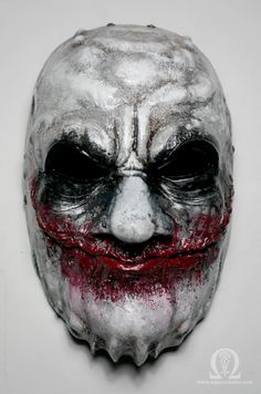 Joker demon mask - satin finish