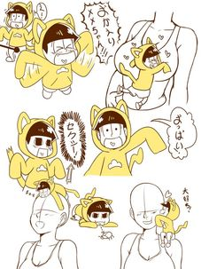 Osomatsu-san- Jyushimatsu #Anime「♡」Little Neko