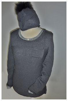 Pullover mit passender Beanie