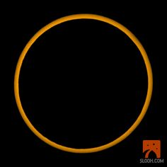 Annular Solar Eclipse Amazing!!  from SLOOH Space Camera -  Robotic Telescopes. Membership. Astronomy. Space Enthusiasts. Live Celestial Shows - Transit of Venus, Total Lunar Eclipse, Total Solar Eclipse, Comets, Supernovas, Conjunctions, solar flares, Jupiter, Saturn, Mars, Moon, and much more.