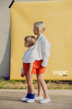 Xenia & Lola from Sugar Kids for Bobo Choses Magazine by Anouk Nitsche.