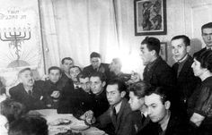 Lodz, Poland, 1943, Hanukkah in the ghetto