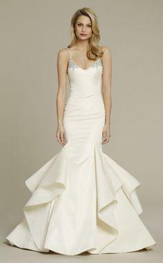 Wedding dress idea; Featured Dress: Jim Hjelm