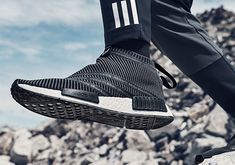 separation shoes 8bb3f cd3d5 White Mountaineering adidas NMD City Sock   SneakerNews.com Yeezy, Adidas  Damer, Adidasskor
