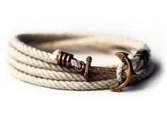 Anchor Bracelet - Atlantic Whalers - by Kiel James Patrick